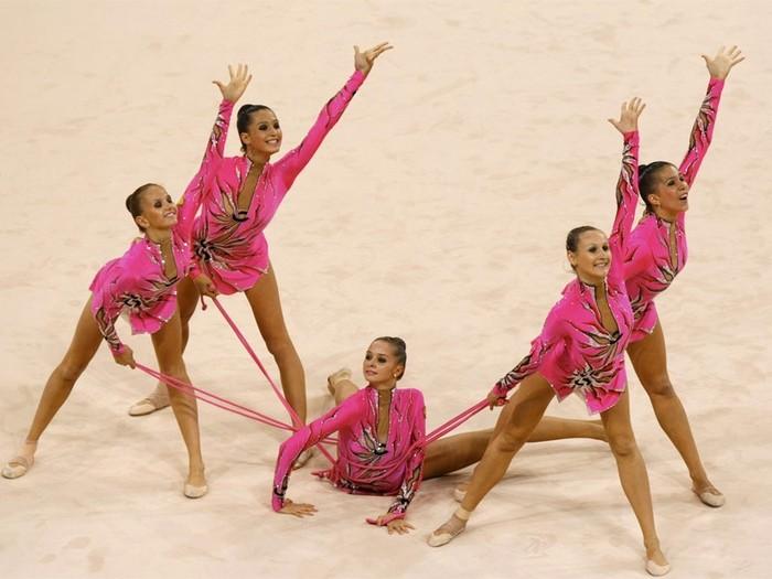 Первенство города Бронницы. по художественной гимнастики