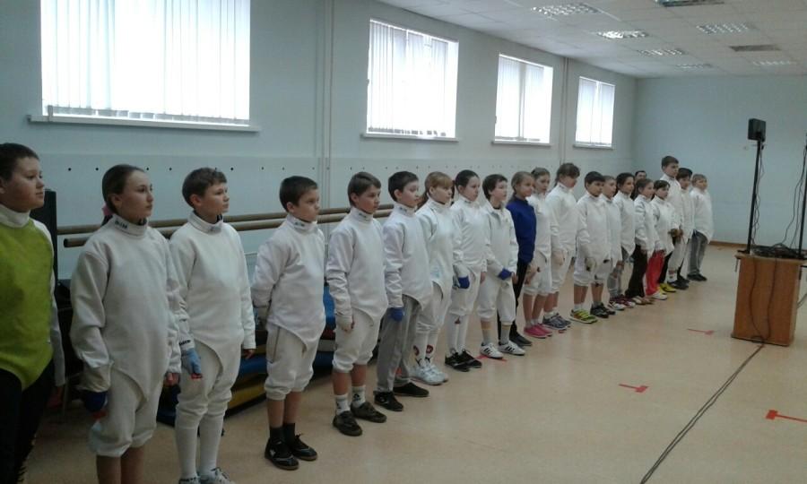 Отчёт по соревнованиям на отделении Фехтования