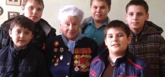 «В гостях у Ветеранов Великой Отечественной Войны!»