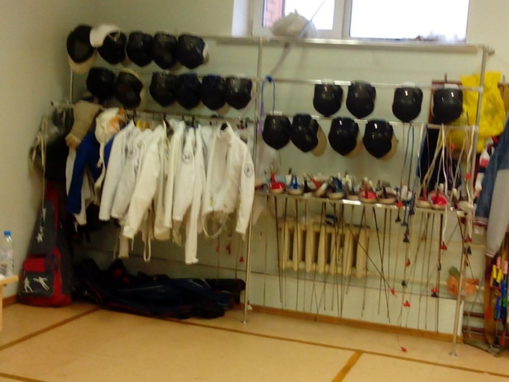Открытое   тренировочное  занятие  по фехтованию
