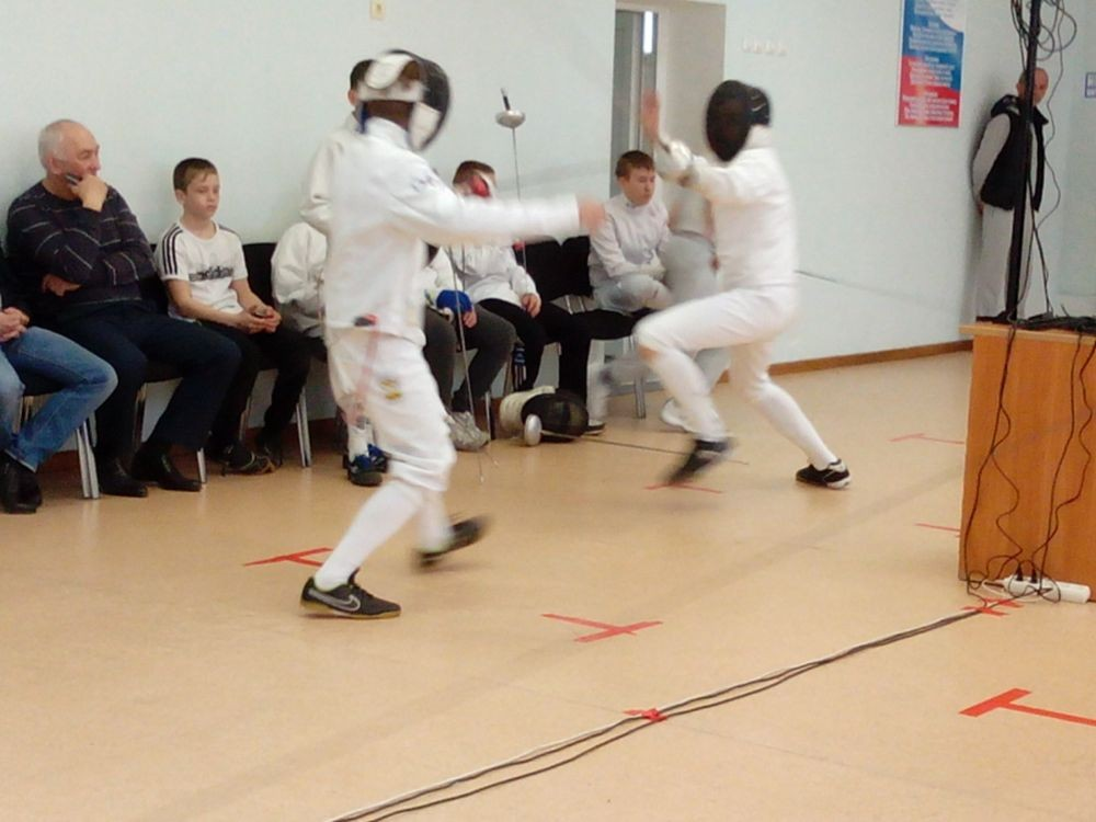 Отчёт по соревнованиям по фехтованию