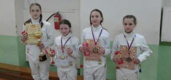 Соревнования по фехтованию в городе Воскресенске 14 февраля 2016 год