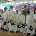 Первенство Московской области по фехтованию