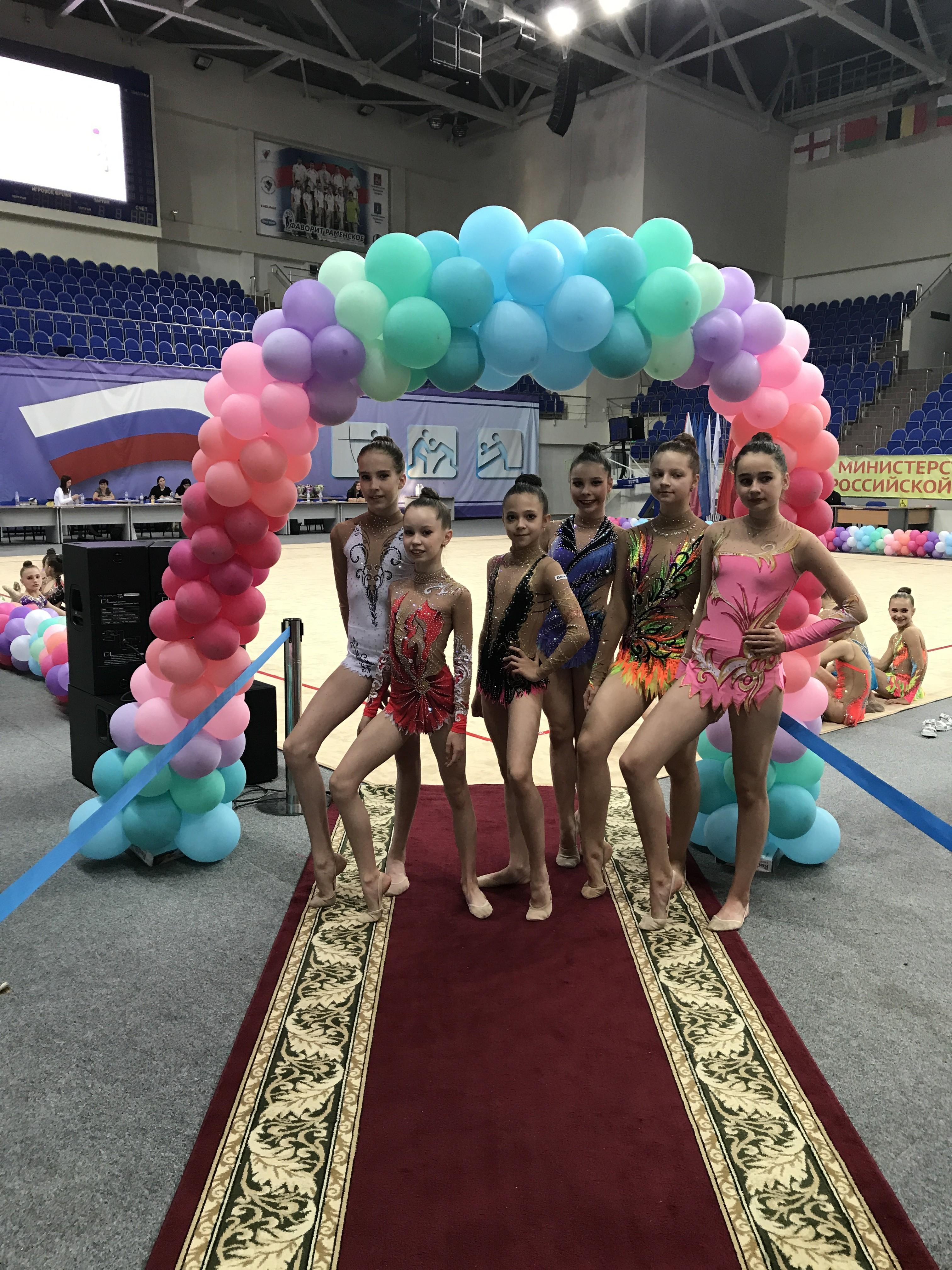 Первенство по художественной гимнастике Город Раменское