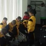 Профильный лагерь футболистов
