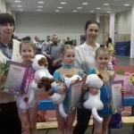 Наши гимнастки выступают в Малаховке
