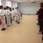 Новогодний турнир по фехтованию