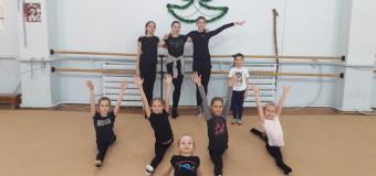 «Новогодние Весёлые старты» на отделении художественной гимнастики 4 января 2018 года