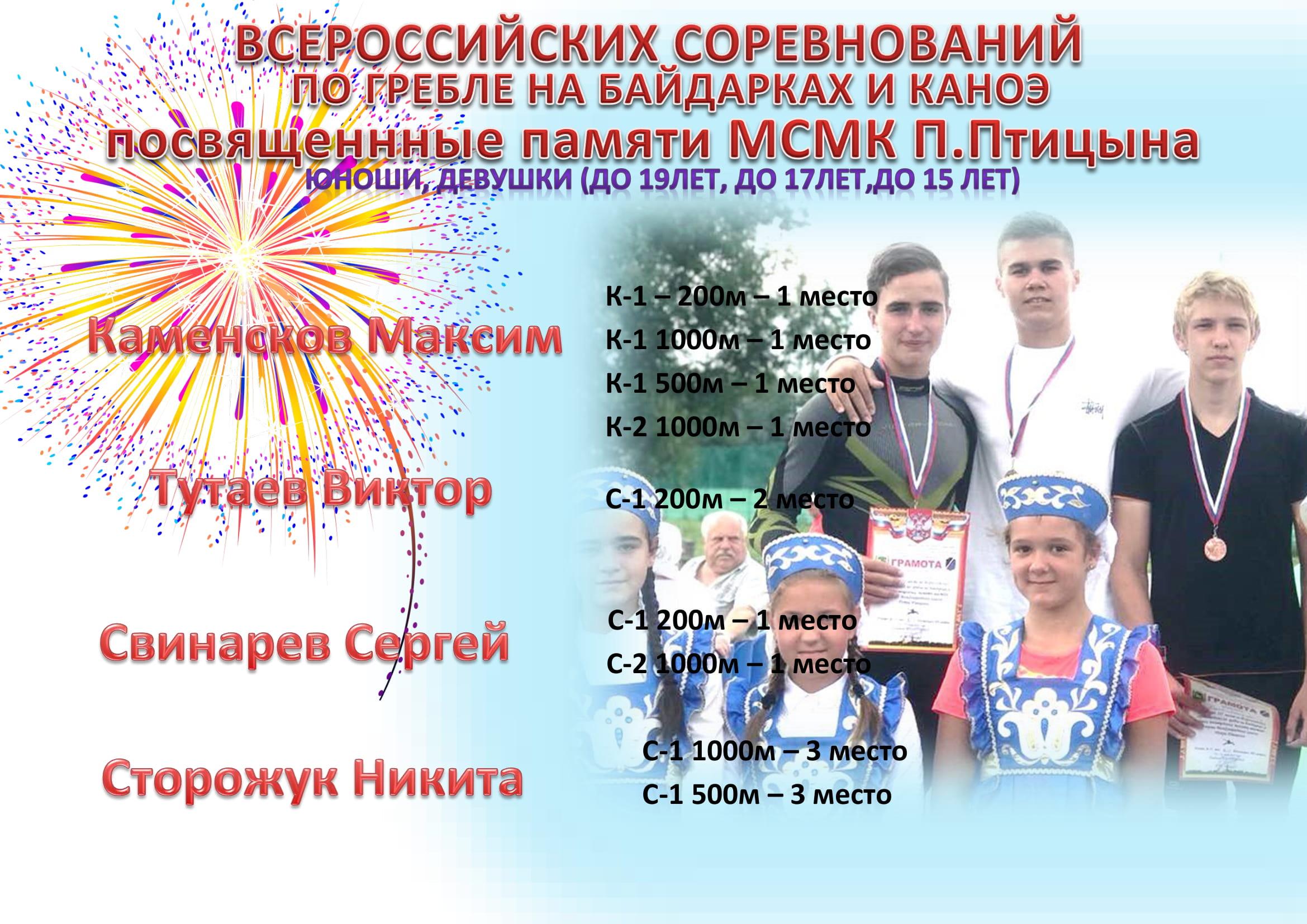 Всероссийские соревнования памяти П.Птицыно-1