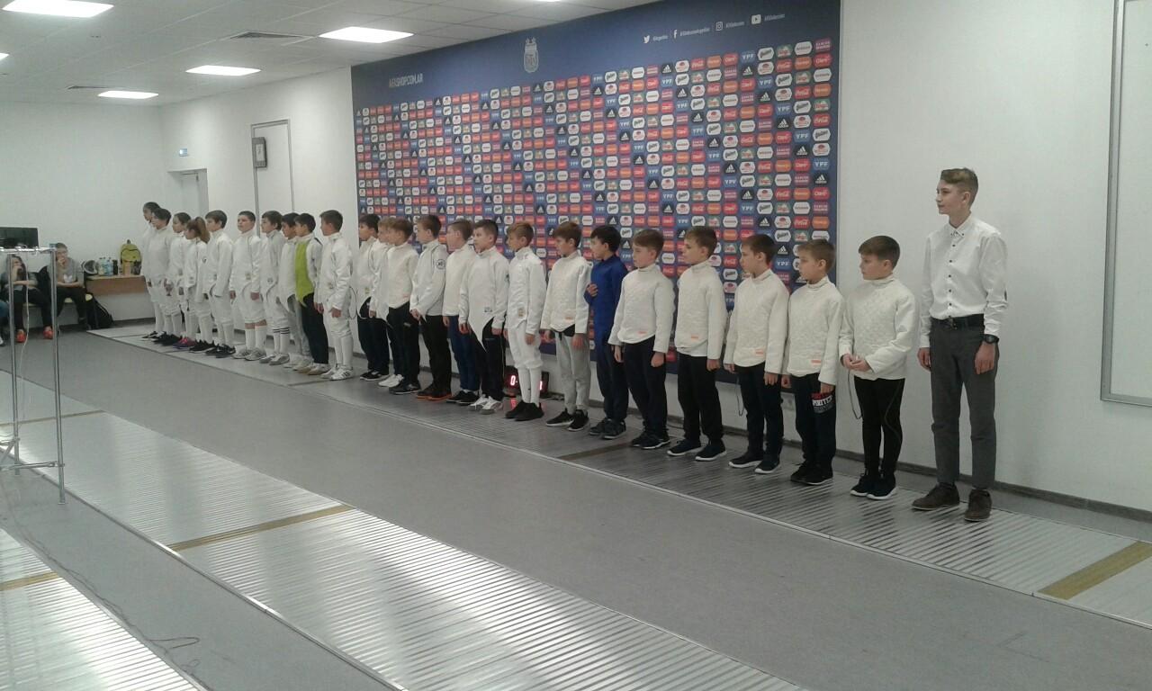 Отчет Кубок СШОР 24 ноября 2018