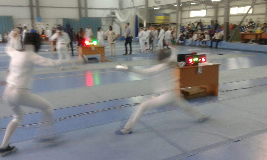Соревнования по фехтованию в г. Звенигороде.»