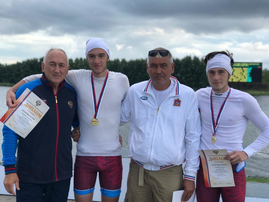 первенство России и всероссийские соревнования по гребле на байдарках и каноэ среди юниоров и юниорок до 19 лет