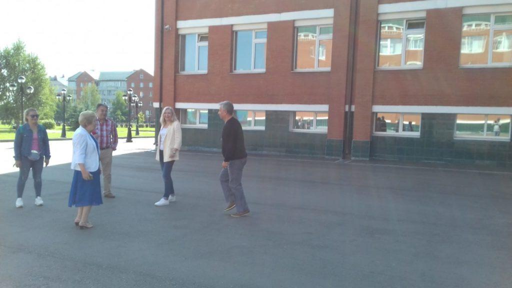 учебная тренировка по эвакуации   на спортивных объектах МАУ СШОР