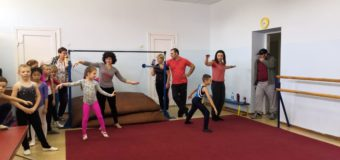 Мастер класс по спортивной гимнастике состоялся