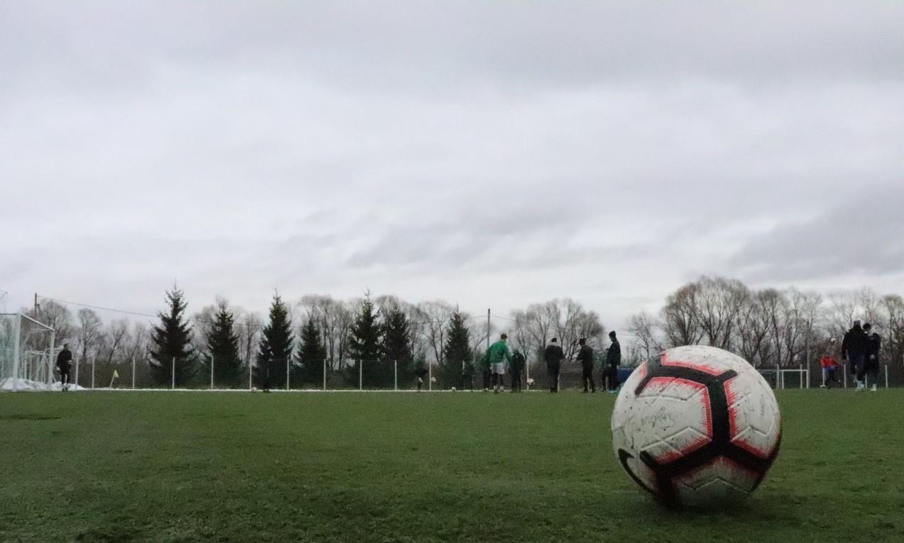 Тренировка ФК «СШОР Бронницы»