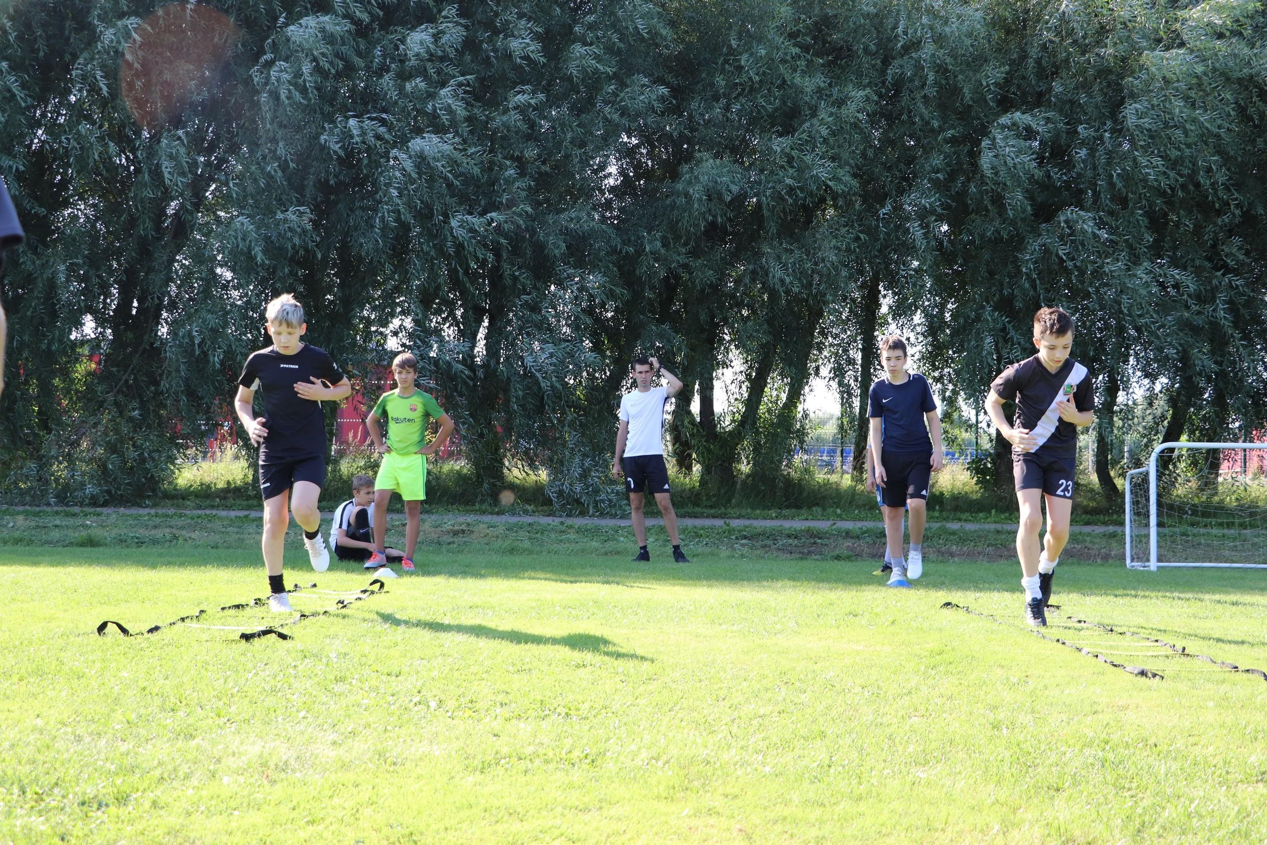 Совместная тренировка 2007-2008 г.р
