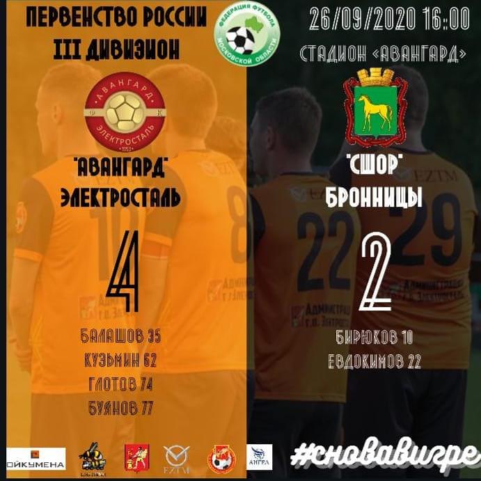 8 тур Чемпионата Московской области лига Б зона 2