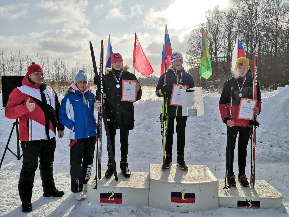 первенство города Бронницы по лыжным гонкам
