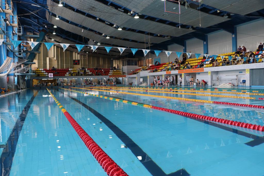 Первенство Раменского городского округа по плаванию в классических ластах