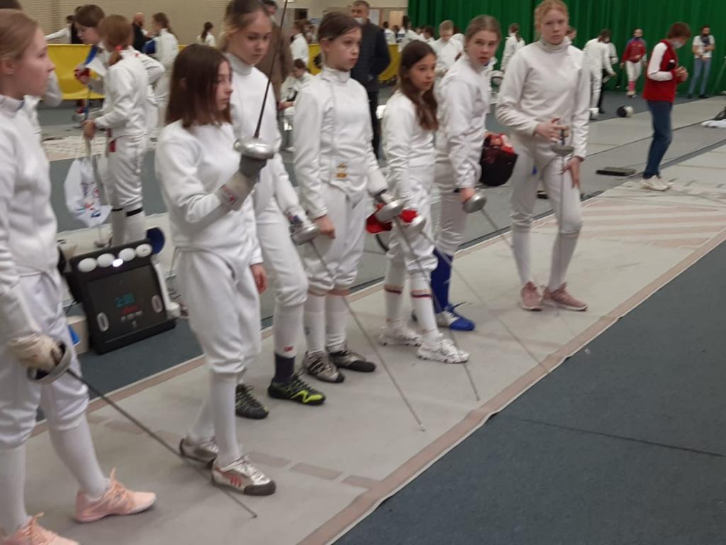 ХII Всероссийские открытые соревнования по фехтованию на призы двукратной Олимпийской чемпионки К.Азнавурян