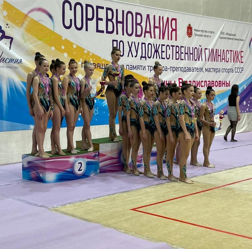Межрегиональные соревнования по художественной гимнастике «Династия»